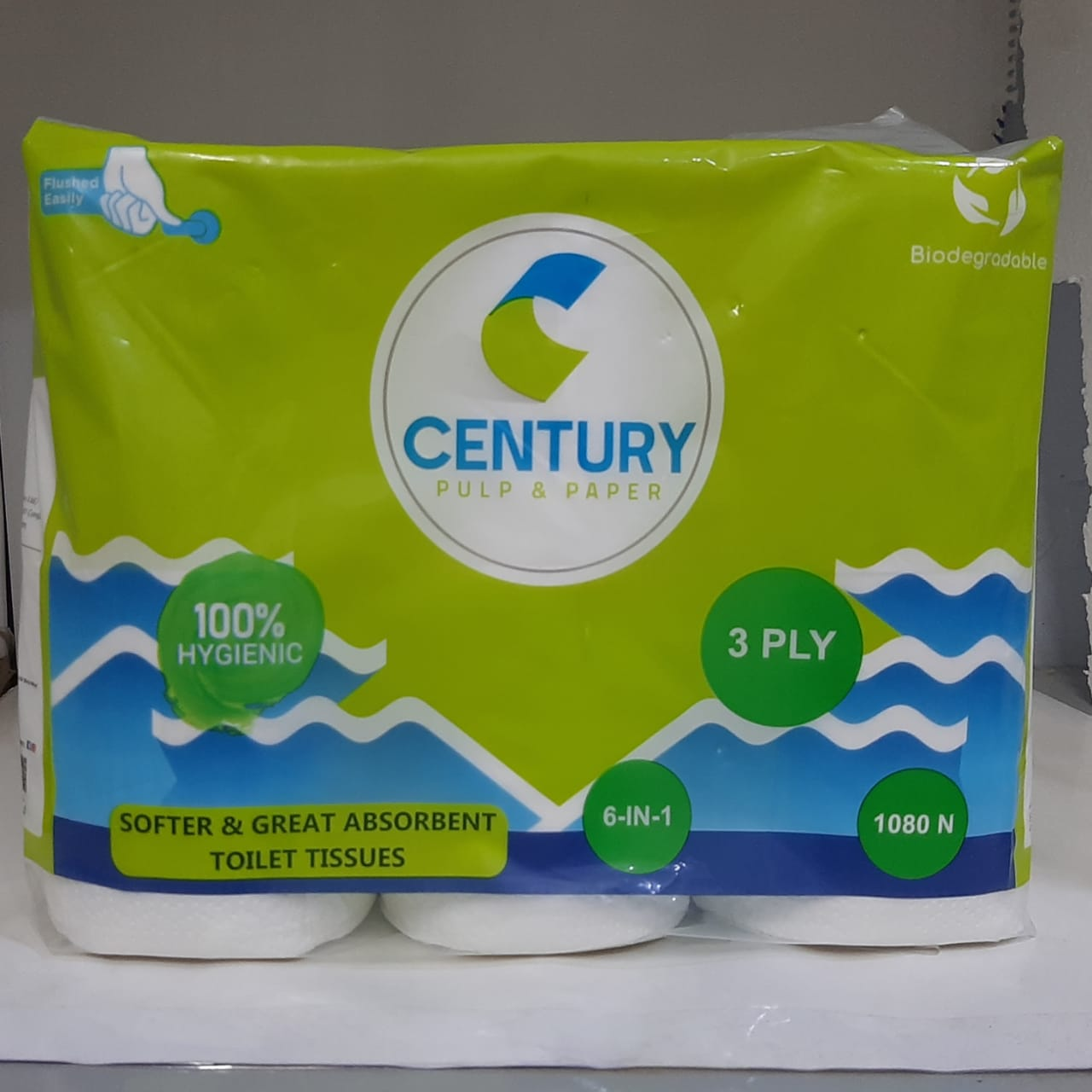 CENTURY Toilet Tissues 3 Ply